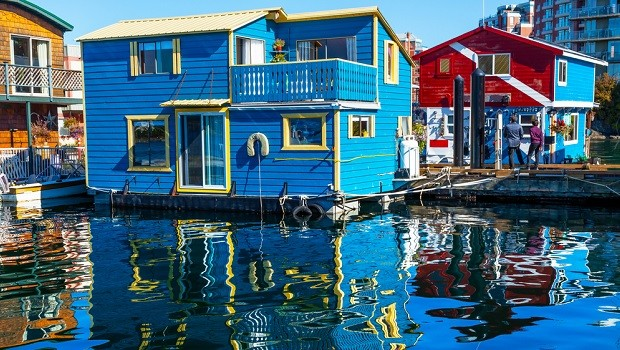 Fisherman's Wharf houseboats