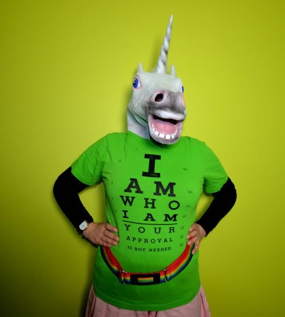 Unicorn Front On
