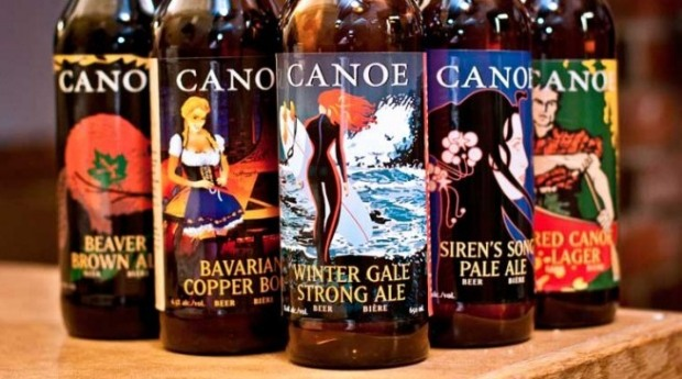 Horsing Around Victoria Canoe Brewpub bottles by tapsmagazine