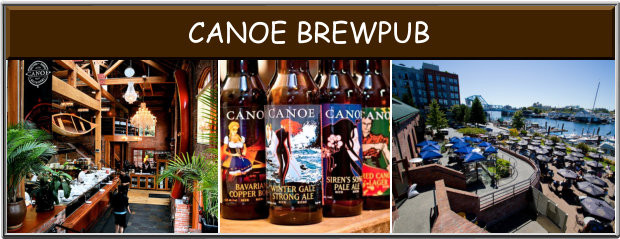 Canoe Brewpub Victoria BC Great Patio and Live Music