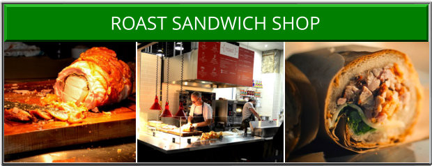 Roast Sandwich Shop Victoria BC