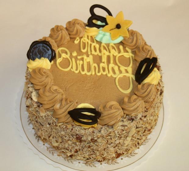Horsing Around Victoria Mocha Cake by Dutch Bakery