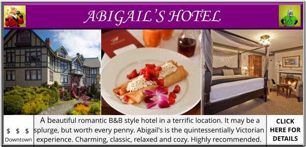 Victoria BC Sleep Accomodation Hotel Tourist Tourism