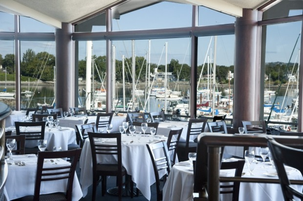 Horsing Around Victoria - The Marina Dining with a View