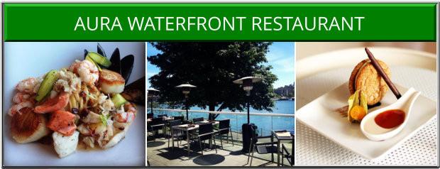 Aura Waterfront Restaurant Victoria BC