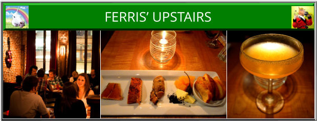 Ferris' Upstairs Victoria BC Romantic Tapas Bistro