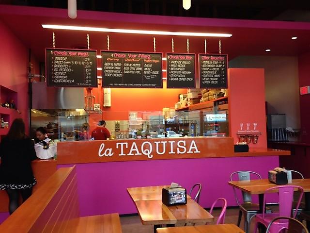 La Taquisa Mexican Restaurant Victoria BC Blanshard Street
