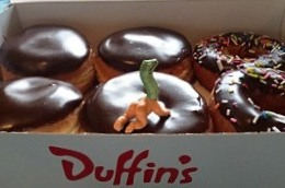 Duffin's Donuts Boston Cream