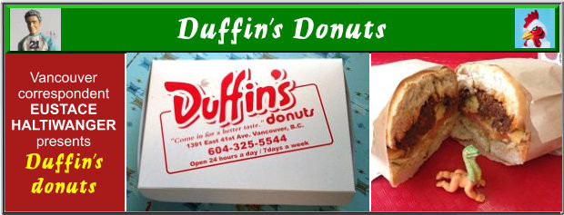 Duffin's Donuts Vancouver BC