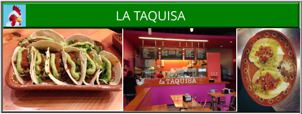 Eat La Taquisa Victoria BC Mexican Restaurant