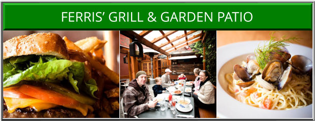 Ferris' Grill and Garden Patio Victoria BC