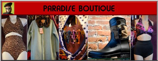 Paradise Boutique Victoria BC